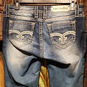 Rock Revival sequin & bling jeans
